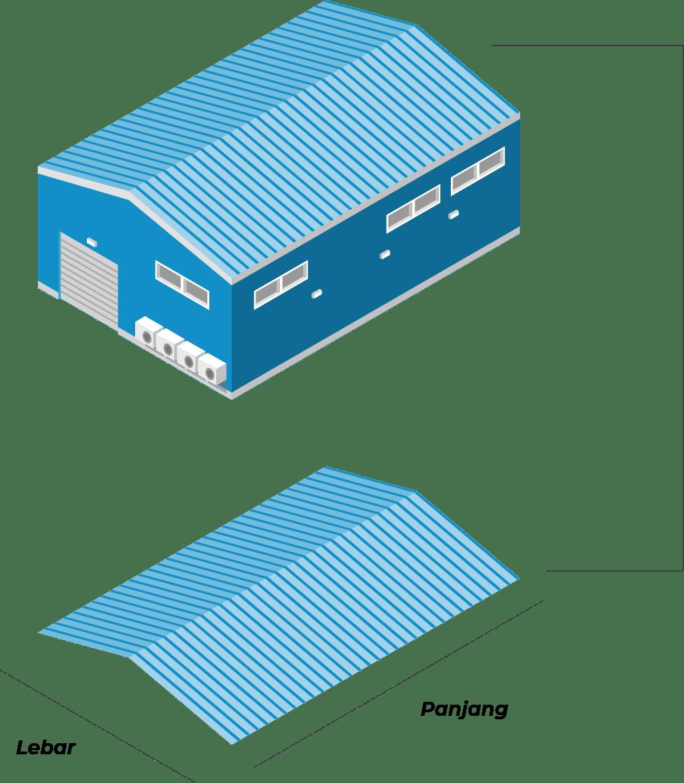 gable roof illustration